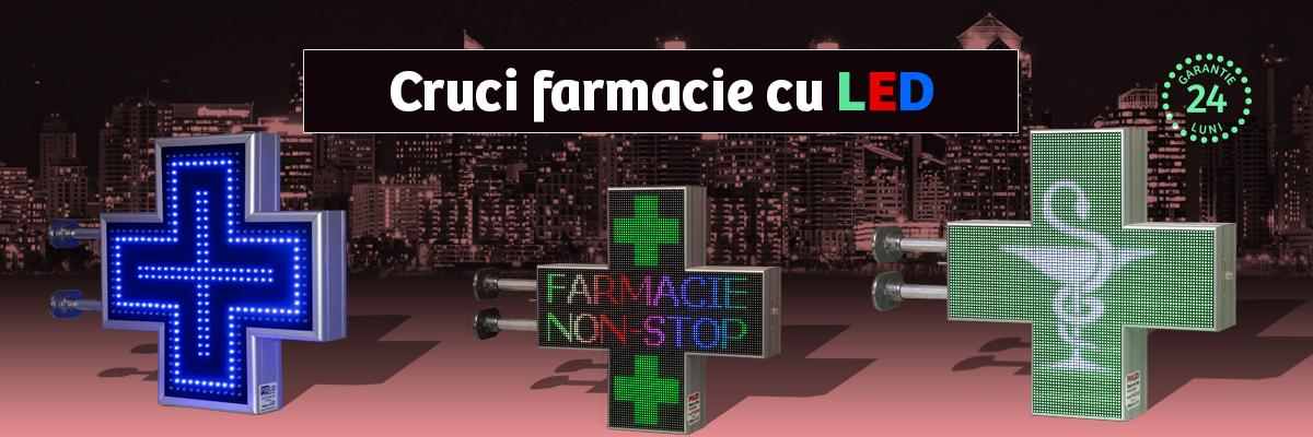 Cruci Farmacie LED