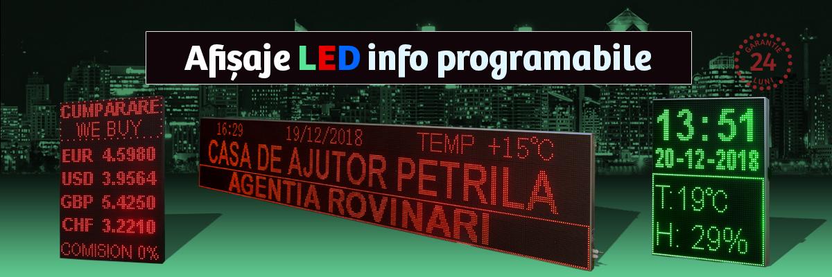 Afisaje LED Programabile