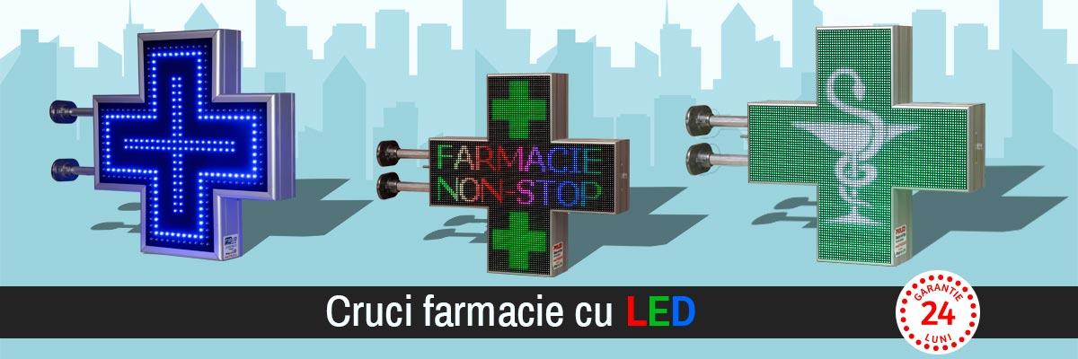 Cruci Farmacie p10 LED